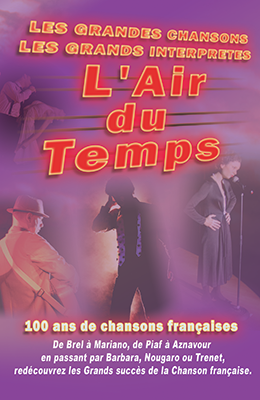 spectacle l'air du temps - cabaret le Robinson Toulouse